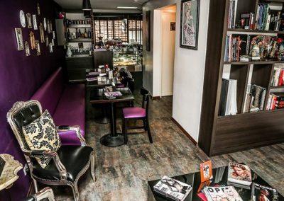 Cafe e lounge Soul Tattoo na oscar Freire
