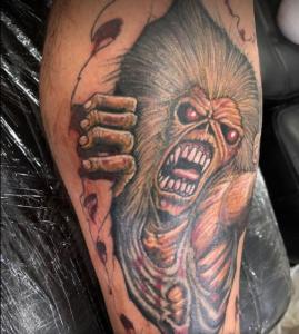 Iron Maiden Tatoo